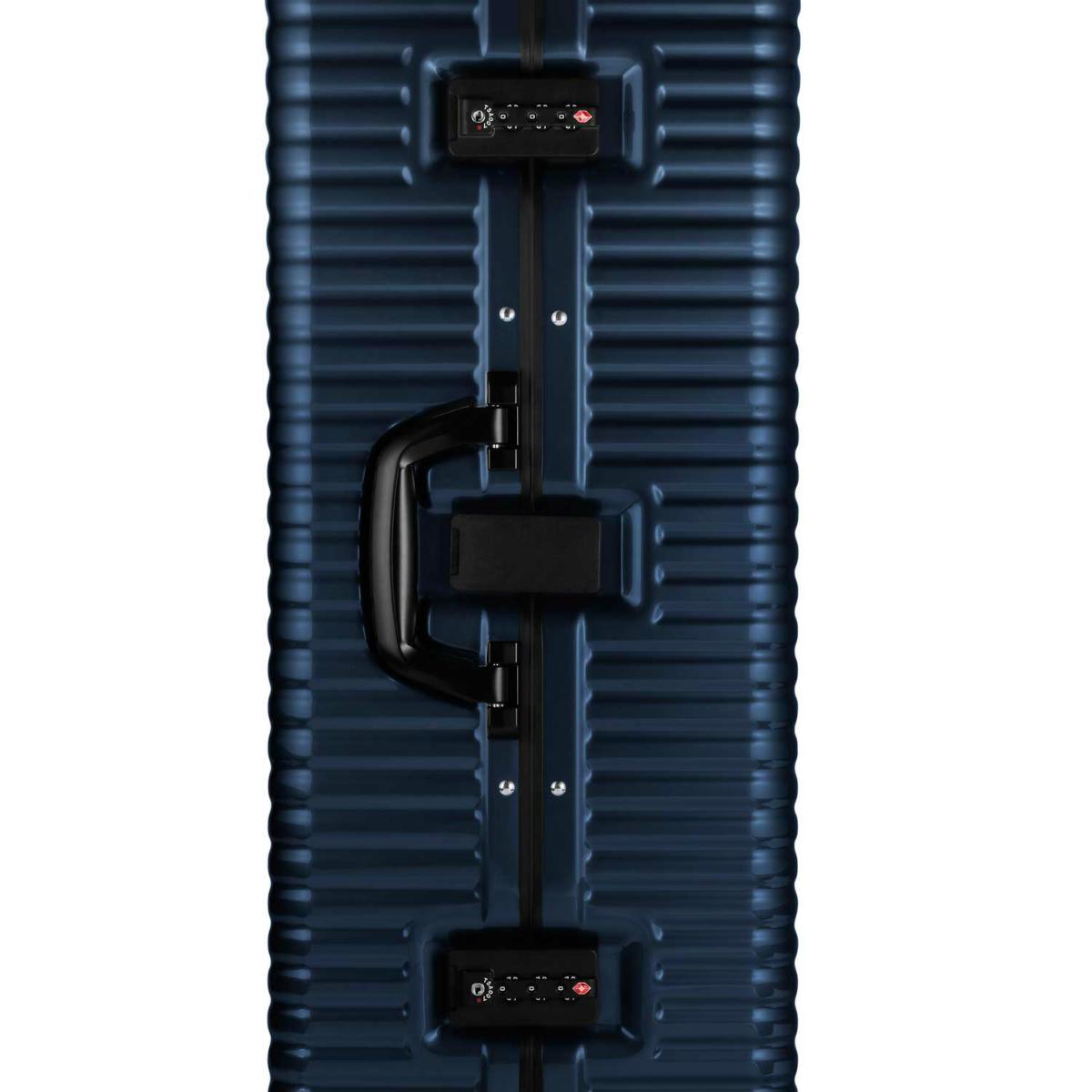 【クリアランスセール・GoTo トラベル】ランツォ LANZZO Norman Light ノーマン ライト 4輪 87L 約5.8kg ダイアルロック式 ポリカーボネート スーツケース PC29 42912 BLU(ブルー)【返品交換不可】special priceAM