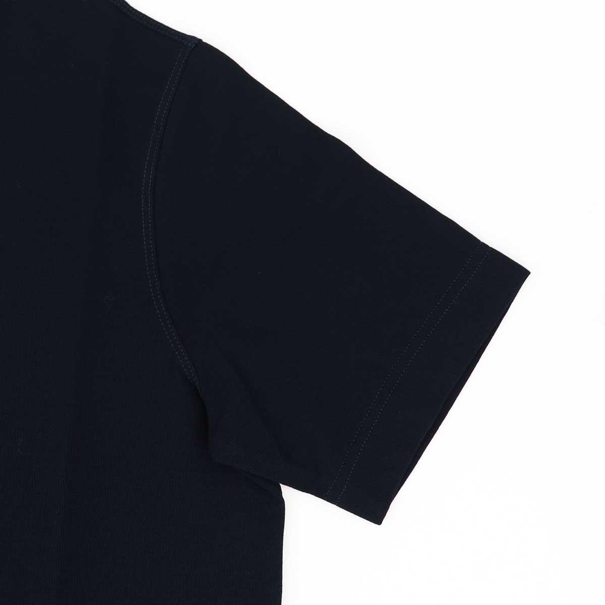 【クリアランスセール】ザノーネ ZANONE メンズ アイスコットン クルーネック 半袖Tシャツ T-SHIRT MC ROUND NECK 811821 Z0380 Z0542(ネイビー)【返品交換不可】