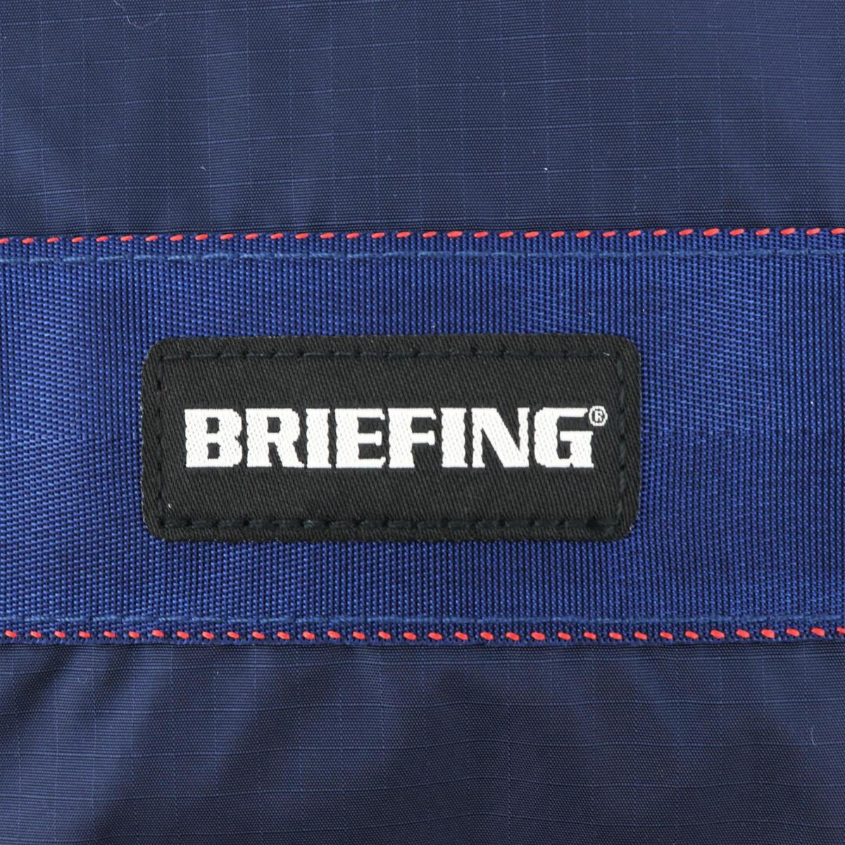 ブリーフィングゴルフ BRIEFING GOLF VIROBLOCK DRAWSTRING POUCH M ドローストリングポーチ 100D RIPSTOP NYLON SERIES BRG211G24 BRG 076 NAVY(ネイビー) 春夏新作