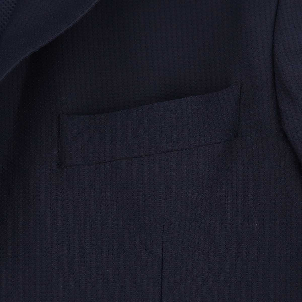 【クリアランスセール】エルビーエム1911 L.B.M.1911 メンズ 撥水 ストレッチ 2B シングルジャケット TRAVEL SPORTS UNIFORM FLY JACKET 0101-28445746 0003(ネイビー)【返品交換不可】
