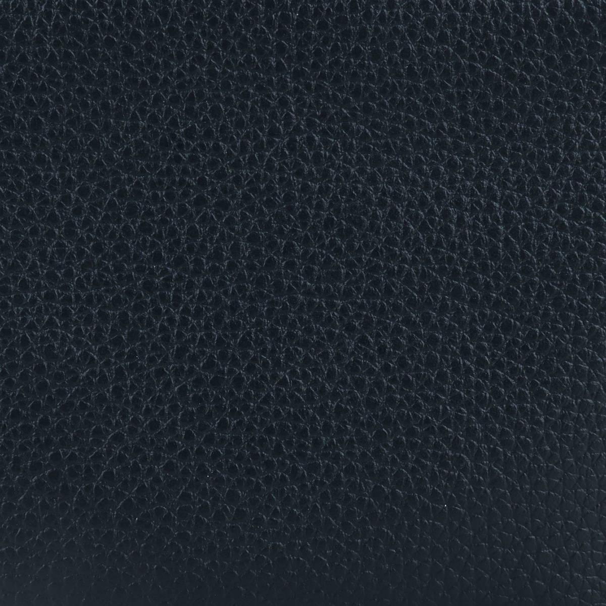 ペッレモルビダ PELLE MORBIDA Colore コローレ 撥水 シュリンク風型押しレザー キーチャーム付き コインケース PMO-ST009P NVY (ネイビー×オレンジ)秋冬新作