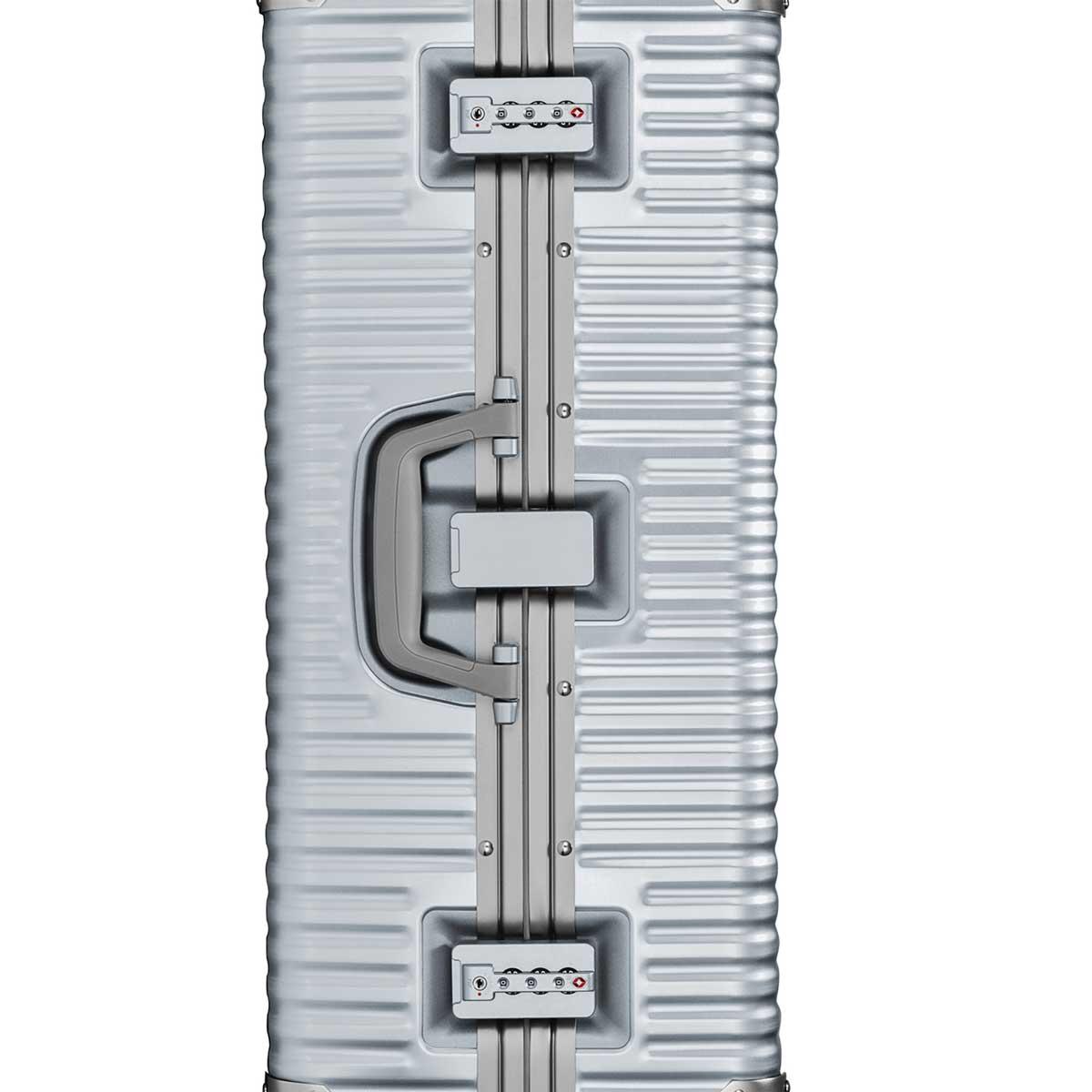 【決算セール・GoTo トラベル】ランツォ LANZZO NORMAN ノーマン 4輪 87L 約7.0kg ダイアルロック式 アルミ スーツケース Al-Mg29 162901 SILVER(シルバー)【返品交換不可】special priceAM