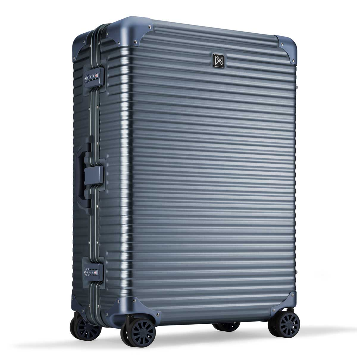 【決算セール・GoTo トラベル】ランツォ LANZZO NORMAN ノーマン 4輪 87L 約7.0kg ダイアルロック式 アルミ スーツケース Al-Mg29 162906 GRAY(グレー)【返品交換不可】special priceAM