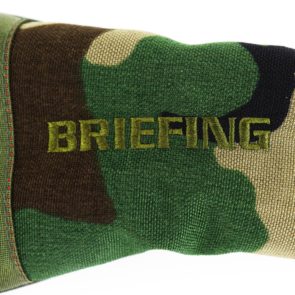 ブリーフィングゴルフ BRIEFING GOLF フェアウェイウッドカバー B SIRIES FAIRWAY WOOD COVER COMBI BRG204G03 160 WOODLANDCAMO(ウッドランドカモ)秋冬新作
