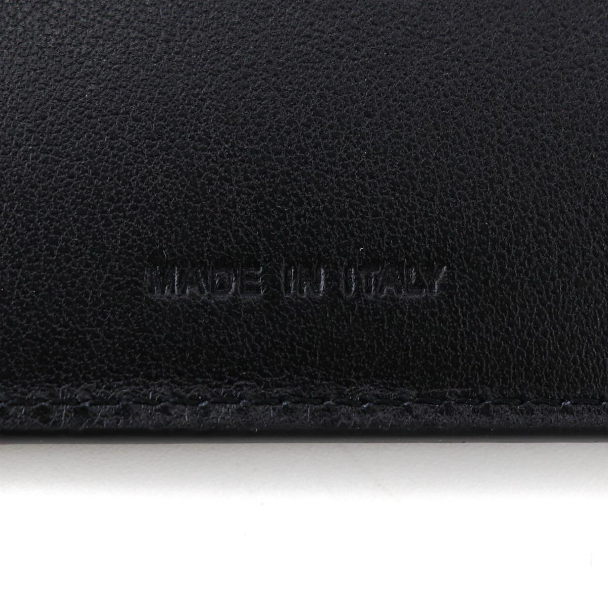 セラピアン SERAPIAN PVC型押し 2つ折り財布 Stepan STEP6136-M11 CC3 Asphalt/Black(ダークグレー)