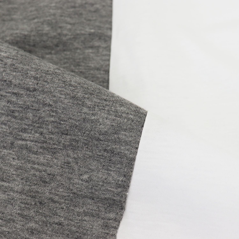 ピーエムディーエス P.M.D.S. PMDS メンズ バイカラー 切り替え半袖Tシャツ NEKA PMD 617TS UNICO (ホワイト×グレー) 春夏新作