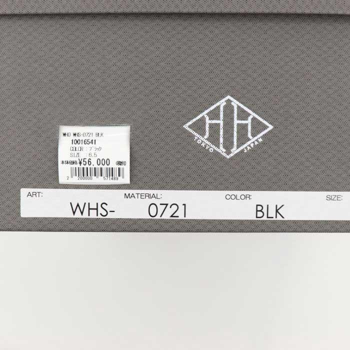 ダブルエイチ WH メンズ グレインレザー マウンテンブーツ 干場氏別注モデル WHS-0721 BLK(ブラック)秋冬新作