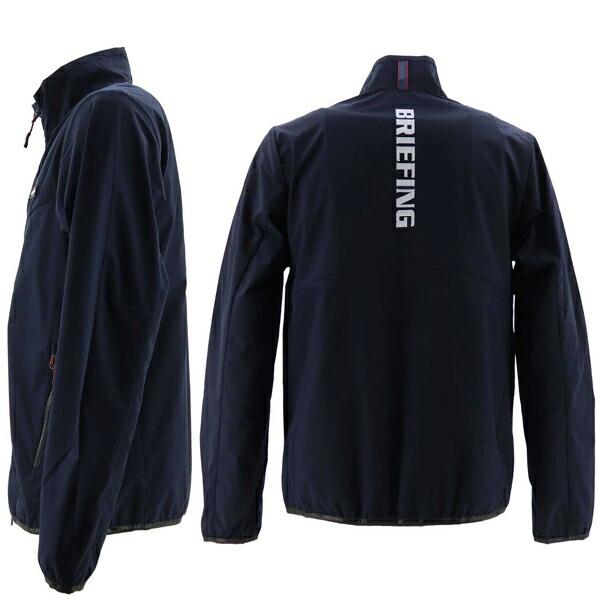 ブリーフィングゴルフ BRIEFING GOLF メンズ ウィンドジャケット MS WIND JACKET BRG213M12 BRG 076 NAVY(ネイビー)秋冬新作