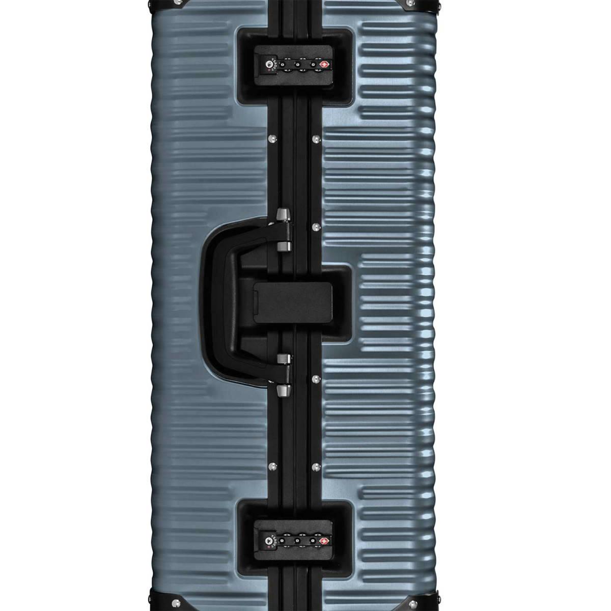 【クリアランスセール・GoTo トラベル】ランツォ LANZZO Norman ノーマン 4輪 87L 約7.0kg ダイアルロック式 アルミ スーツケース Al-Mg29 62906 GRY(グレー)【返品交換不可】special priceAM