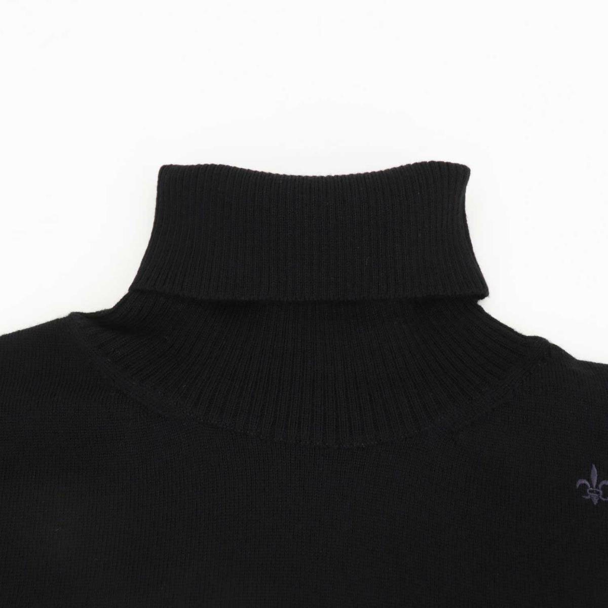 スウィープ ロサンゼルス Sweep!! LosAngeles メンズ ウール タートルネックセーター 12G SL190001 BLACK (ブラック)