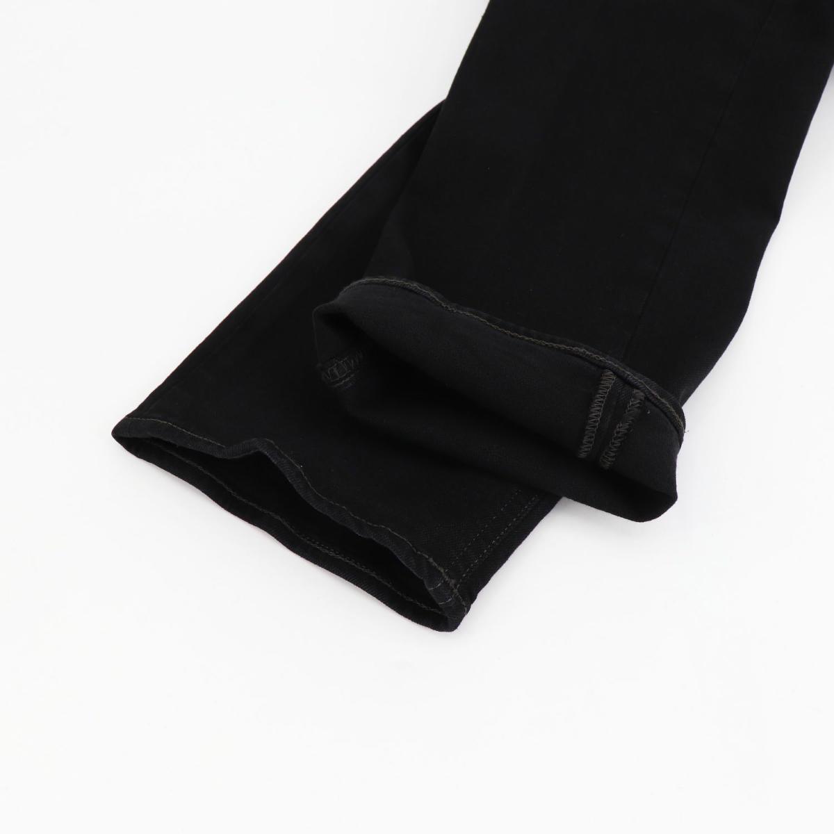 アントレアミ ENTRE AMIS メンズ ストレッチ テーパード ブラックデニム A21-8177-344L685 2021(ブラック)秋冬新作