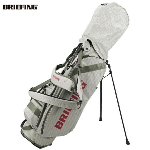 ブリーフィングゴルフ BRIEFING GOLF CORDURA×SPECTRA SERIES キャディバッグ CR-7 BRG203D25 BRG 000 WHITE(ホワイト)秋冬新作