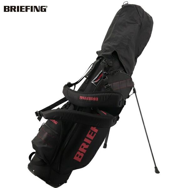 ブリーフィングゴルフ BRIEFING GOLF CORDURA×SPECTRA SERIES キャディバッグ CR-7 BRG203D25 BRG 010 BLACK(ブラック)秋冬新作