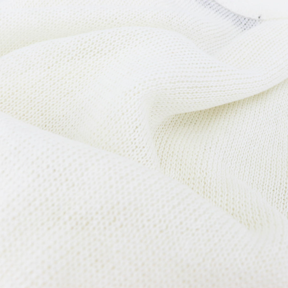 リナシェンテ RINASCENTE メンズ リネン サマーニットカーディガン 6756 RST(ホワイト) 春夏新作