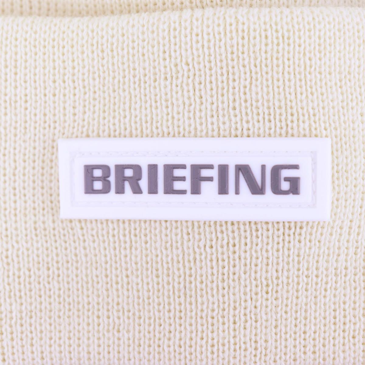 2020-21年秋冬新作 国内正規品 BRIEFING GOLF ブリーフィングゴルフ ウールビーニー MS WOOL BIENIE BRG203M640 000 WHITE(ホワイト)