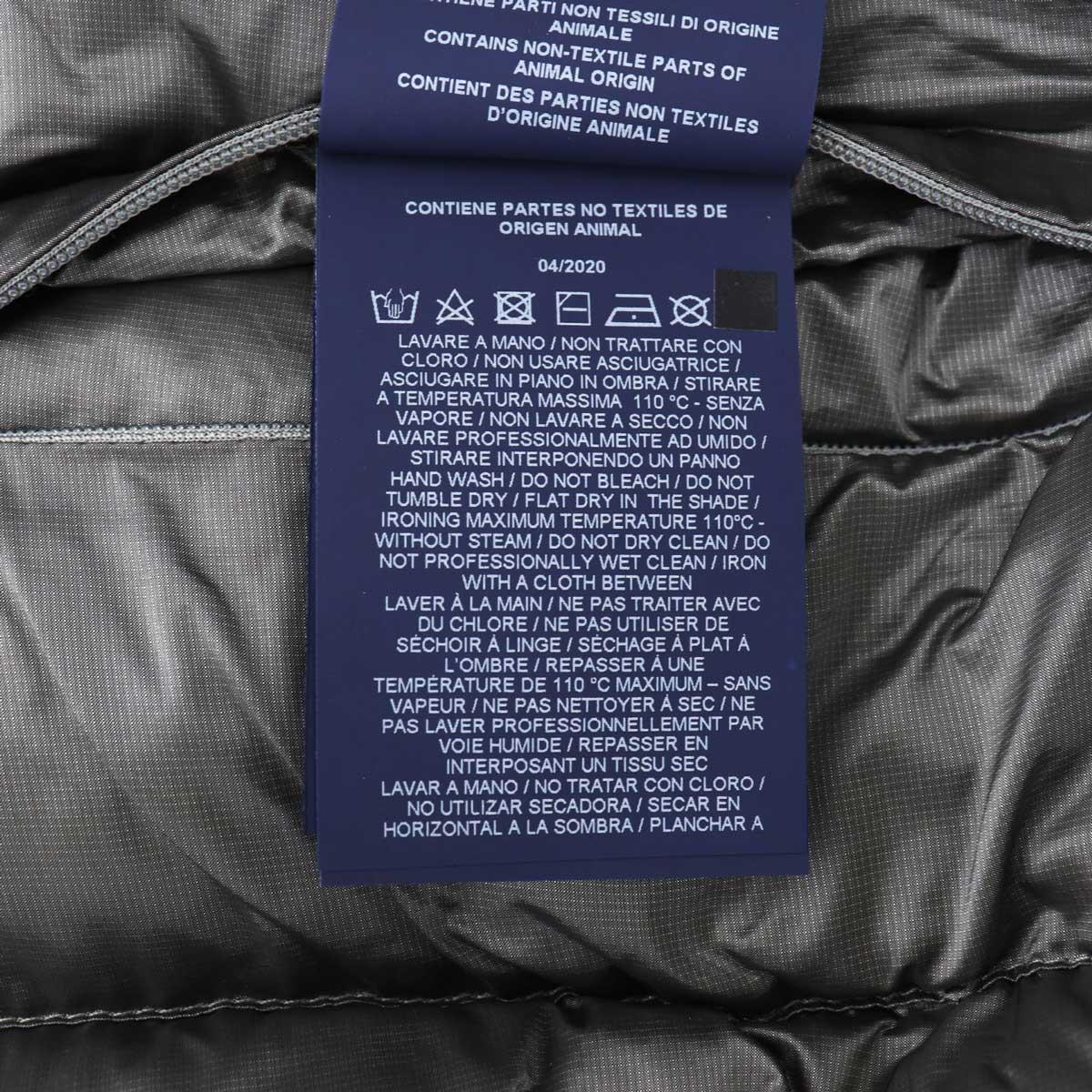 【動画付き】2020-21年秋冬新作 国内正規品 HERNO ヘルノRESORT LINE リゾートライン メンズ リップストップナイロン フードダウンジャケット PI060UR 12344/I 9408(シルバー)