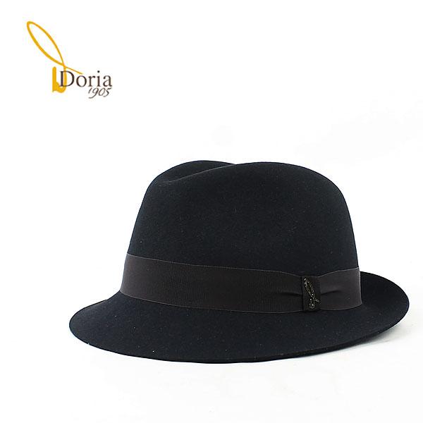 【クリアランスセール 半額以下】ドリア1905 Doria1905 ユニセックス 中折帽 フェドーラ D0045R-D0 0020173(ダークネイビー)【返品交換不可】