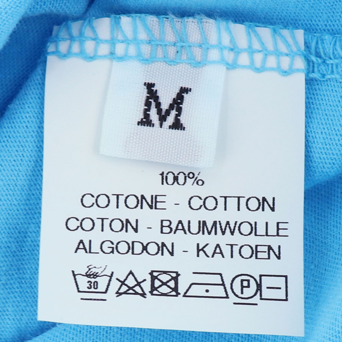 【クリアランスセール 半額以下】ダニエレフィエゾーリ DANIELE FIESOLI メンズ コットン クルーネック 半袖Tシャツ DF7250(ブルー)【返品交換不可】
