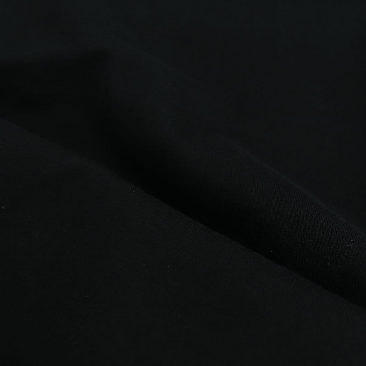 フェデーリ FEDELI メンズ GIZA オーガニックコットン クルーネックTシャツ EXTREME MM. FDL 36(ブラック) 春夏新作