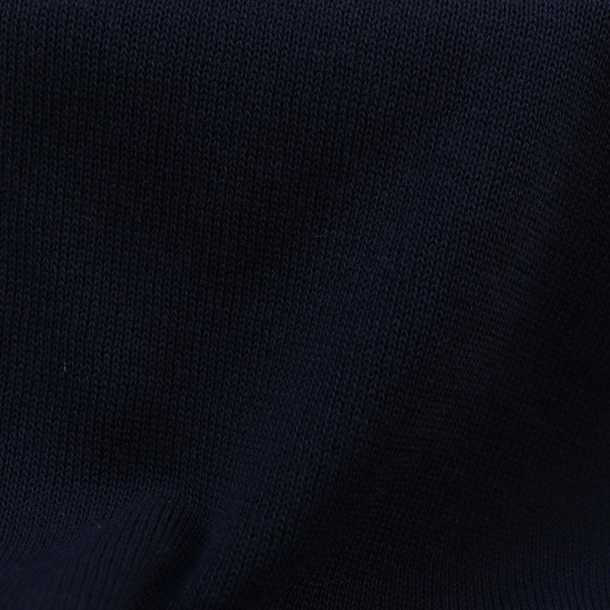 【クリアランスセール 半額以下】ザノーネ ZANONE メンズ コットン ハイゲージ クルーネック 半袖ニットソー GIRO MC 812109 ZY318 Z0542(ネイビー)【返品交換不可】