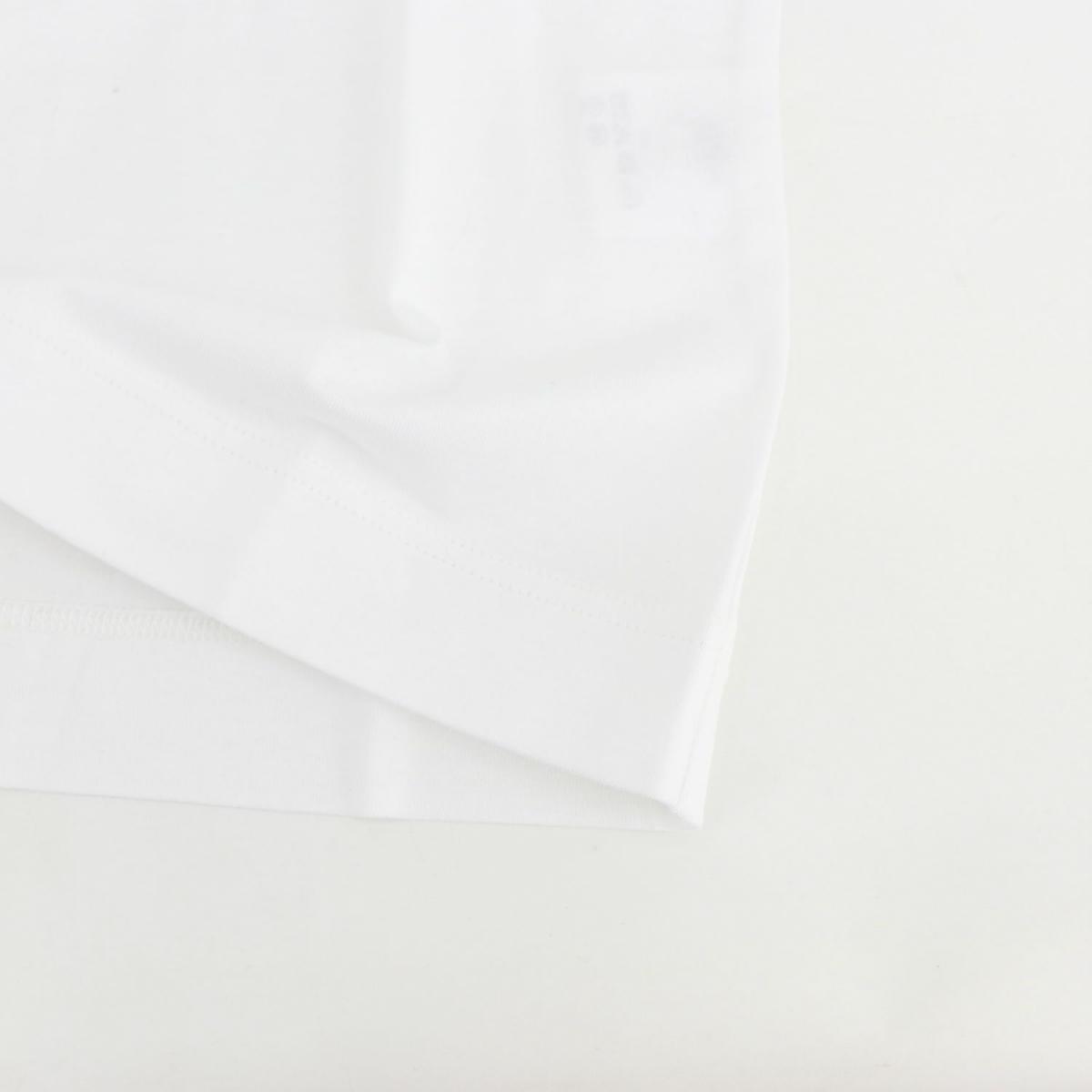 クルチアーニ CRUCIANI メンズ コットン クルーネック 半袖 Tシャツ JU1302 CRU 1000(ホワイト) 春夏新作