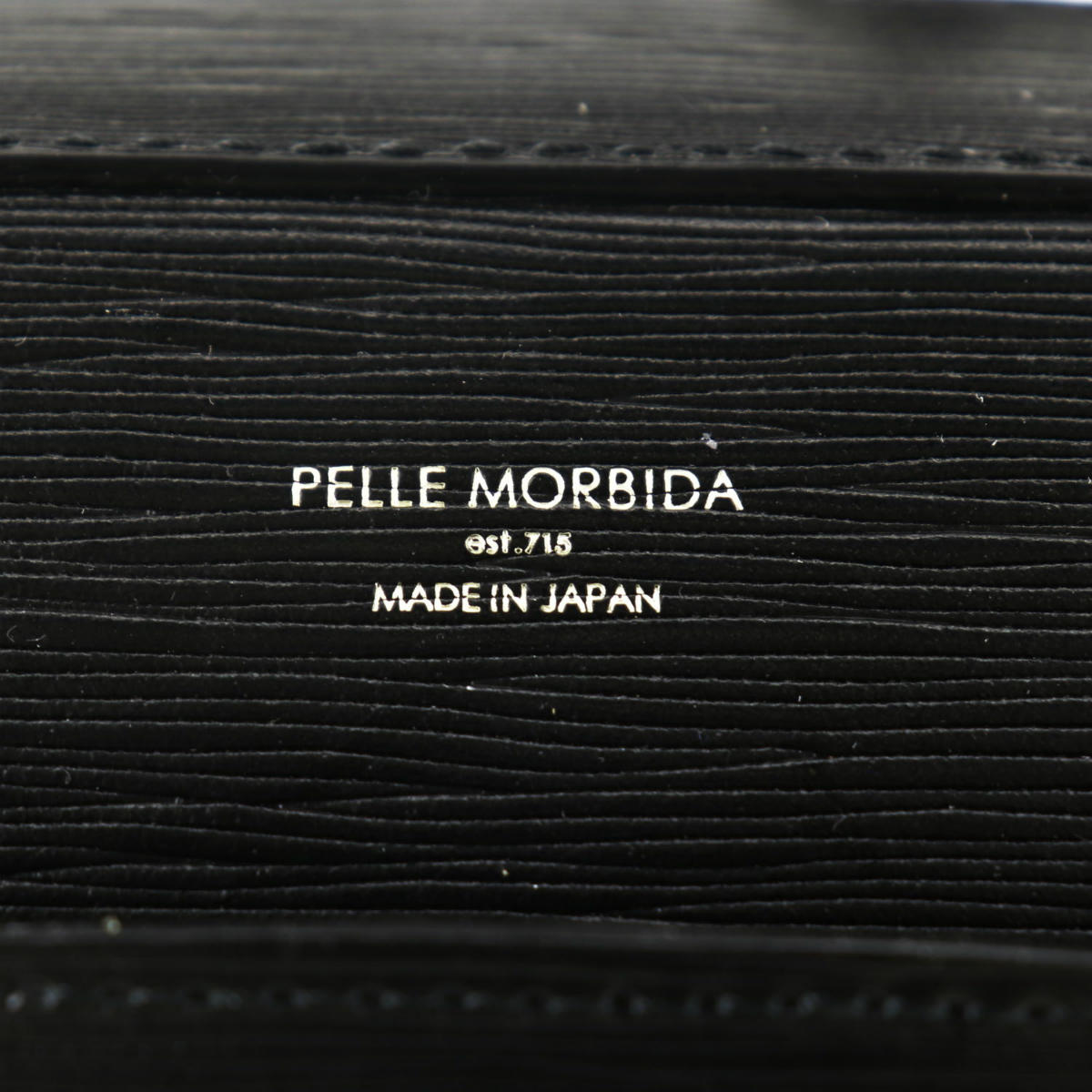 ペッレモルビダ PELLE MORBIDA CAPITANO キャピターノ 型押しレザー 2WAY ブリーフバッグ PMO-CA208 PMO BLK(ブラック) 春夏新作
