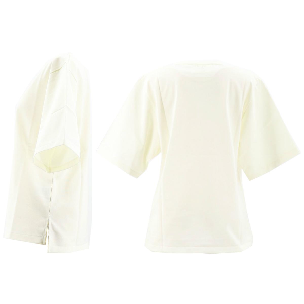 カルナ KALNA レディース ウルティマ コットン クルーネック 半袖Tシャツ 1A11202S KAL 011(オフホワイト) 春夏新作