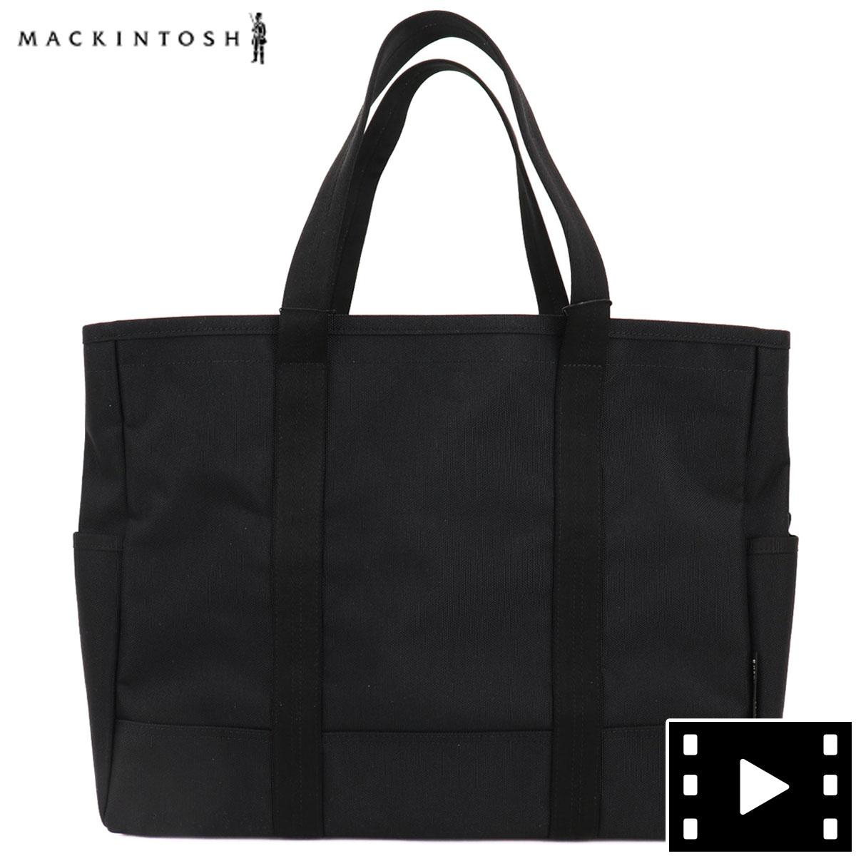 マッキントッシュ MACKINTOSH マッキントッシュ×ポーター MACKINTOSH×PORTER コラボモデル ナイロン トートバッグ MXP030 MCT BLACK(ブラック) 春夏新作
