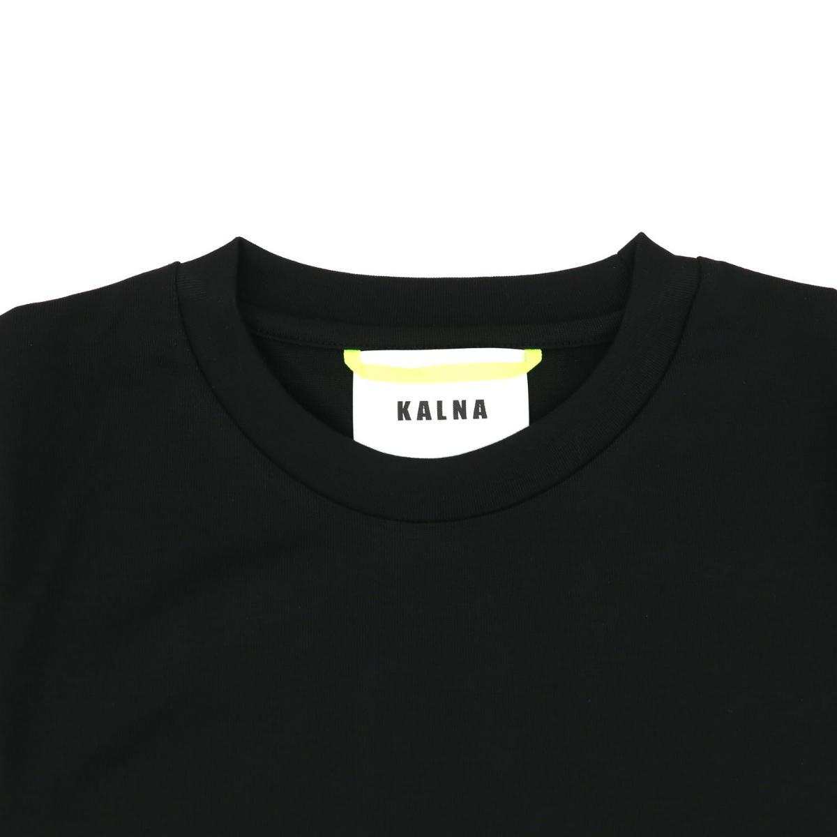カルナ KALNA レディース ウルティマ コットン クルーネック 半袖Tシャツ 1A11202S KAL 019(ブラック ) 春夏新作