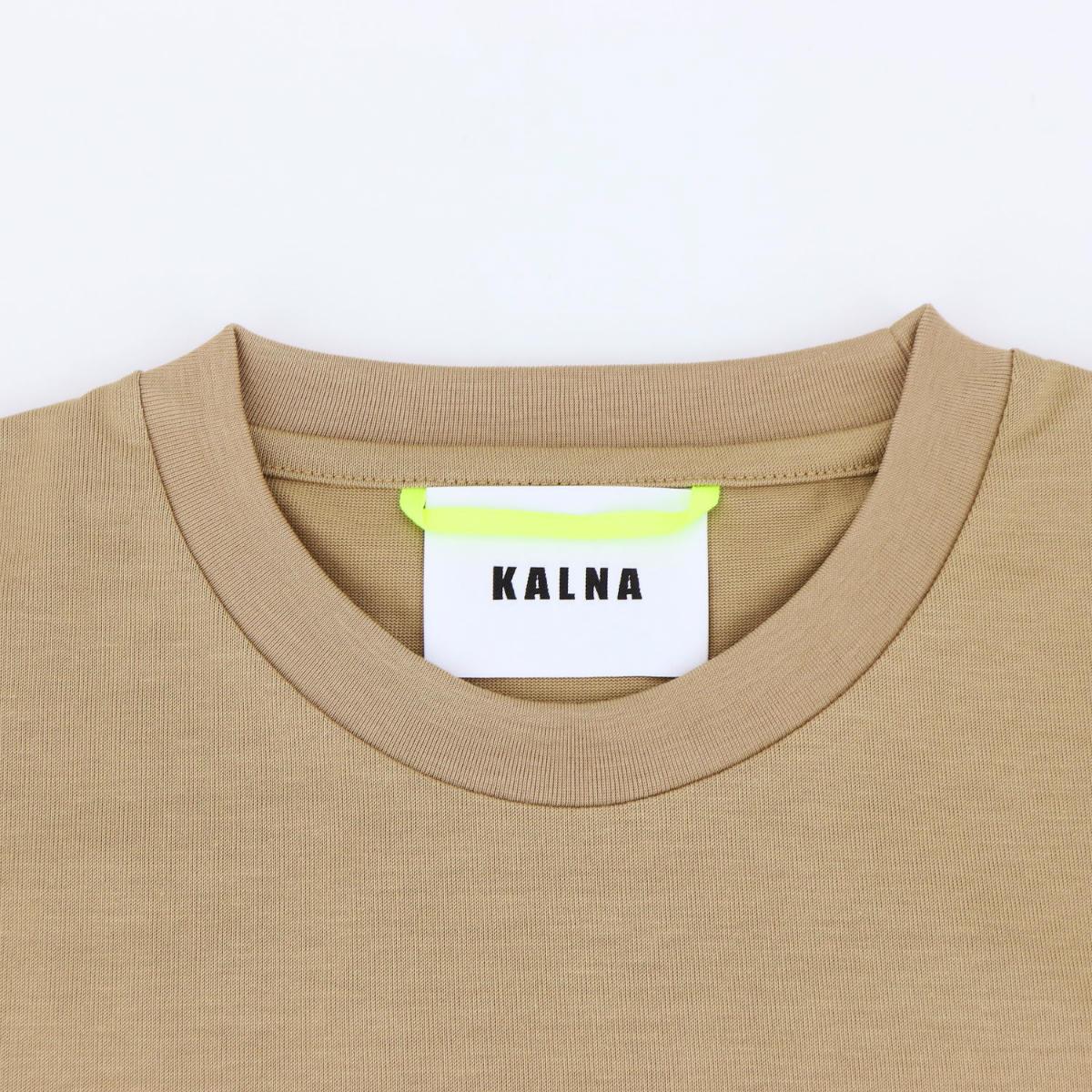 カルナ KALNA レディース ウルティマ コットン クルーネック 半袖Tシャツ 1A11202S KAL 071(ベージュ) 春夏新作