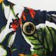 ピーティートリノ PT TORINO バミューダ サマーコットン ボタニカル柄 イージーショートパンツ BERMUDA BUSINESS CBBSW7Z20CL1 PTT AQ05 0340(ネイビー) 春夏新作