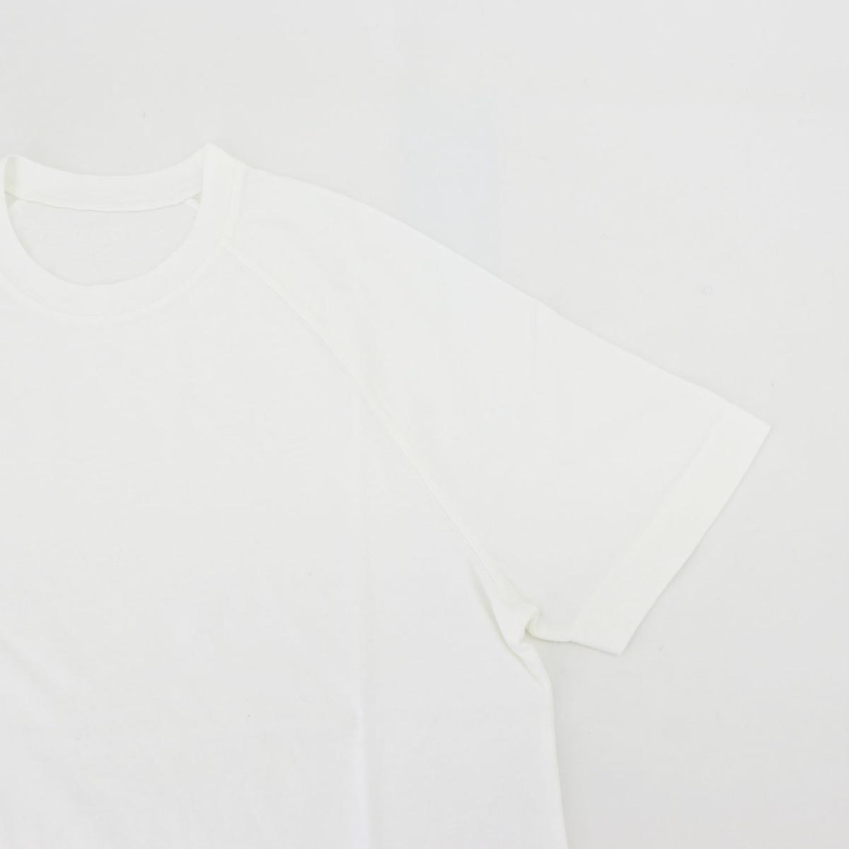 チルコロ1901 CIRCOLO1901 メンズ コットン クルーネック 半袖 ラグランスリーブTシャツ CN2999 CIR T-SHIRT RAGLAN 1104-299914 BIAN(ホワイト) 春夏新作