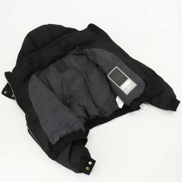 タトラス TATRAS Rライン シルク混ウール レディース ショート丈 ダウンジャケット VIGEER TAT LTAT21A4856 BLACK(ブラック)秋冬新作
