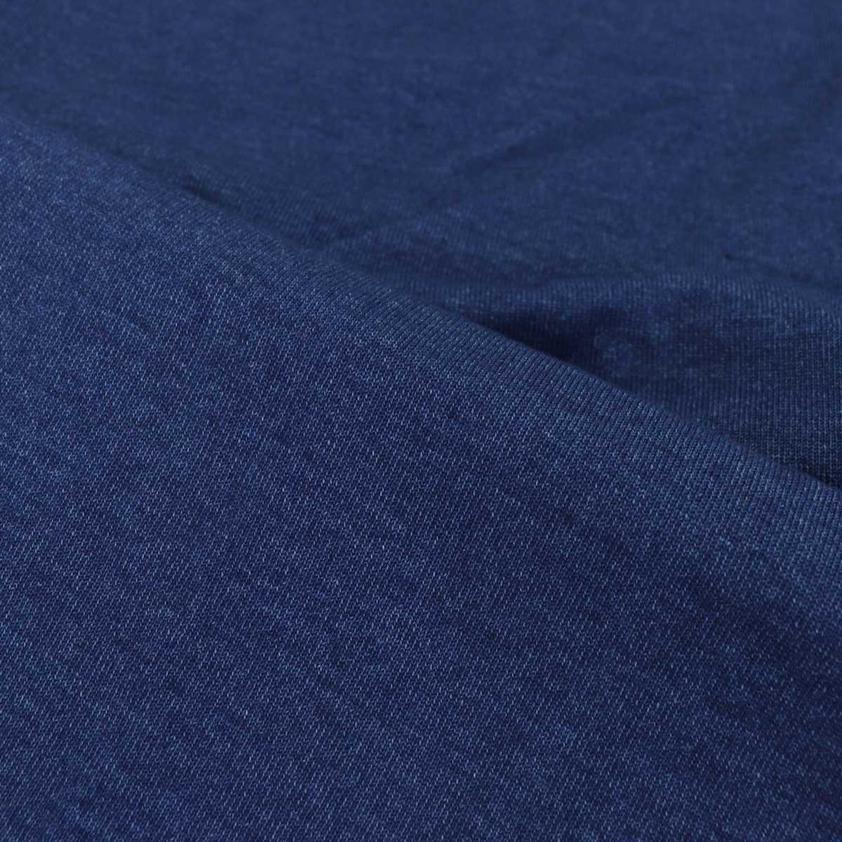 【クリアランスセール】スウィープ!! ロサンゼルス SWEEP!! LosAngeles メンズ コットン 半袖 VネックTシャツ V-NECK SWINVNK-100 INDIGO(インディゴ)【返品交換不可】