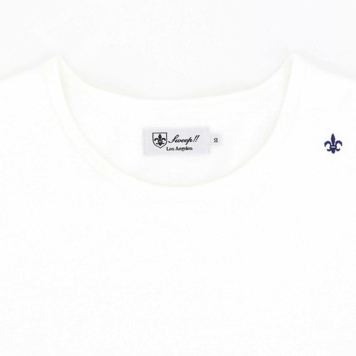 スウィープ!! ロサンゼルス SWEEP!! LosAngeles メンズ コットン 半袖 クルーネックTシャツ BASIC T SHIRTS SL160001 WHITE(ホワイト)秋冬新作