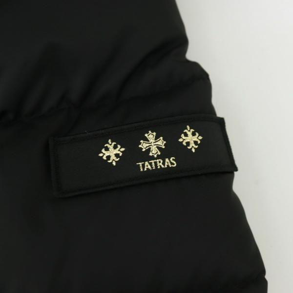 タトラス TATRAS レディース ナイロン ファー付きロングダウン SARMA TAT LTAT21A4794 BLACK(ブラック)秋冬新作