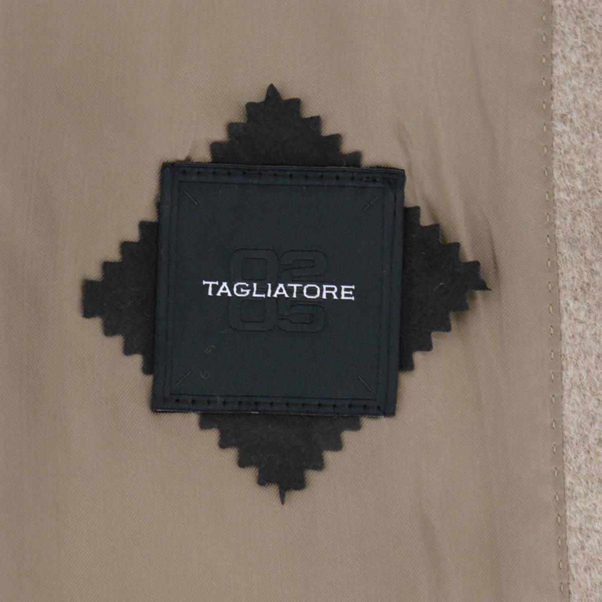 【動画付き】2020-21年秋冬新作 国内正規品 TAGLIATORE タリアトーレ レディース ウール シングル チェスターコート C-ZEUDI 19UIC027(グレージュ)