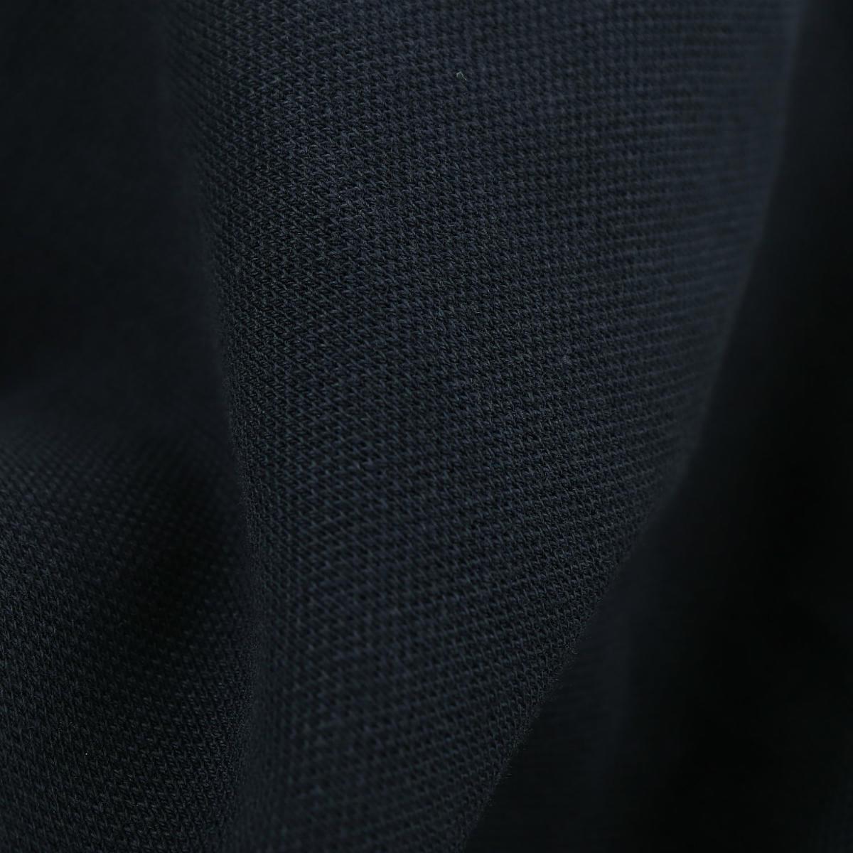ジャンネット GIANNETTO メンズ コットンストレッチ 鹿の子 半袖 カッタウェイカラー クラシックポロシャツ 1103-VENIPLSHSS GNT OBLU(ネイビー) 春夏新作