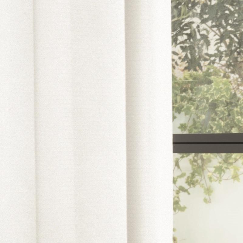<防炎・多機能>機能数最多。24時間遮像・遮熱(涼しや)・保温・防汚・消臭・花粉キャッチ。薄地(ボイル)カーテン【SIKボイル シャネツミラー フェクト WH】ホワイト S4539