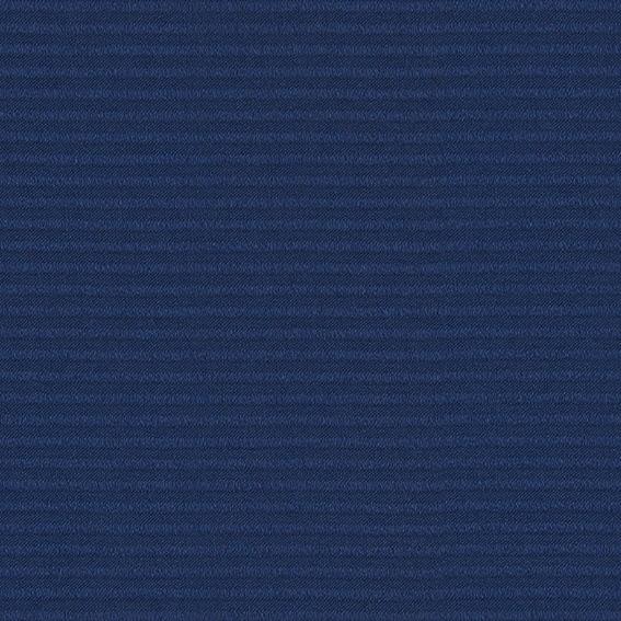 ●新商品10月末まで10%オフ<防炎>細いボーダー柄の無地風遮光1級カーテン【SI アルバ NV】ネイビー S3449