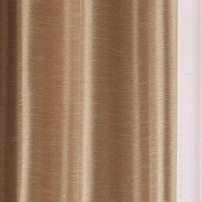 ●新商品10月まで10%オフ<防炎>洗練されたこだわりの無地遮光2級カーテン【SI トワイライト BE】ベージュ S3450