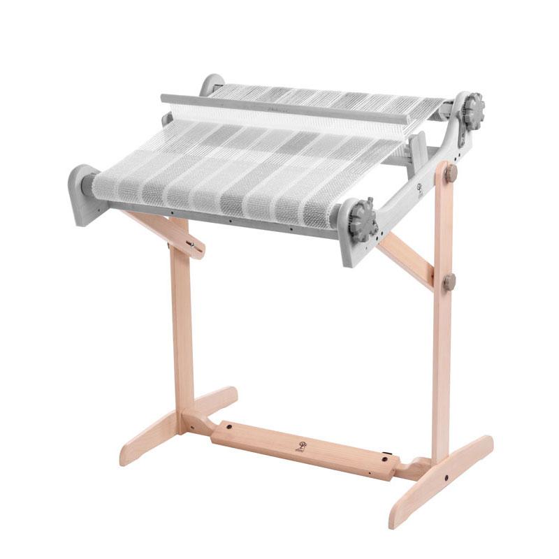 アシュフォード リジッドへドル用スタンド(40cm・60cm・80cm用) 白木 <卓上 手織り機 ashford>
