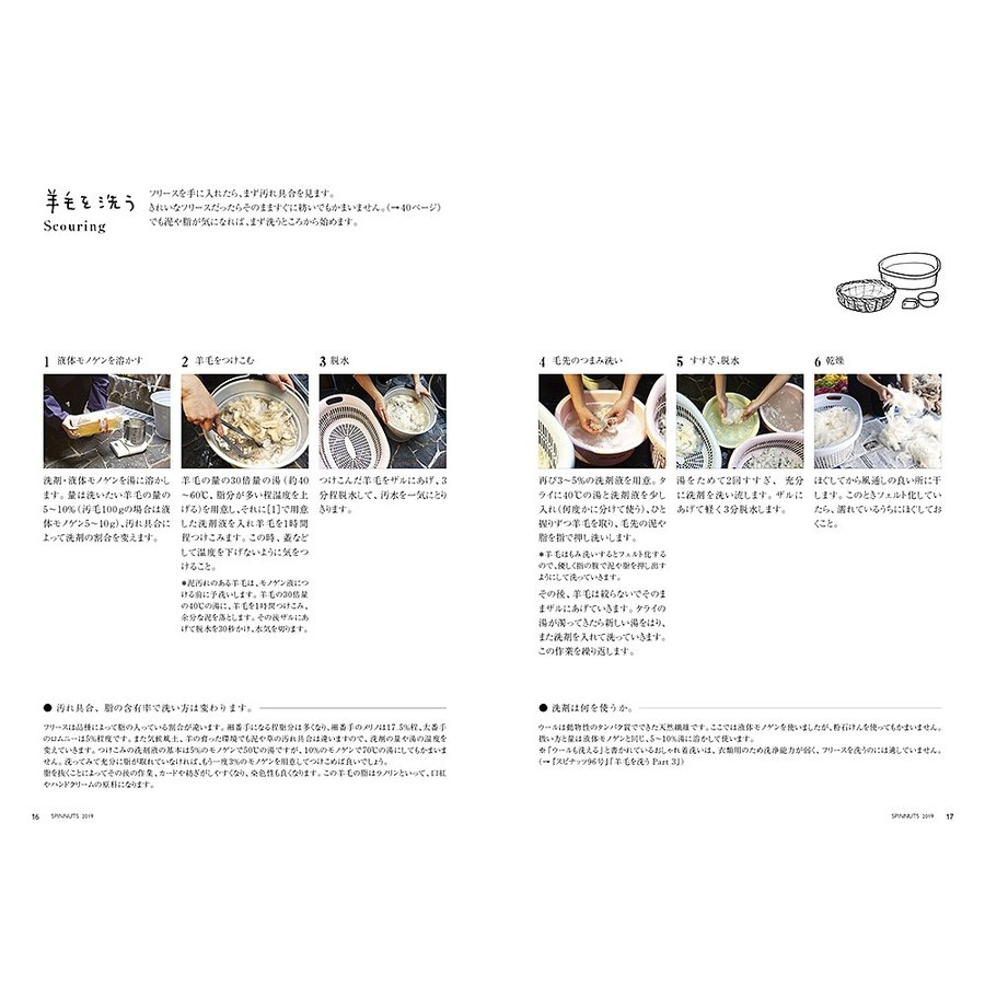スピナッツできるシリーズ6 はじめての糸紡ぎ+DVDセット(書籍) <手織り 紡ぎ 染め 本>