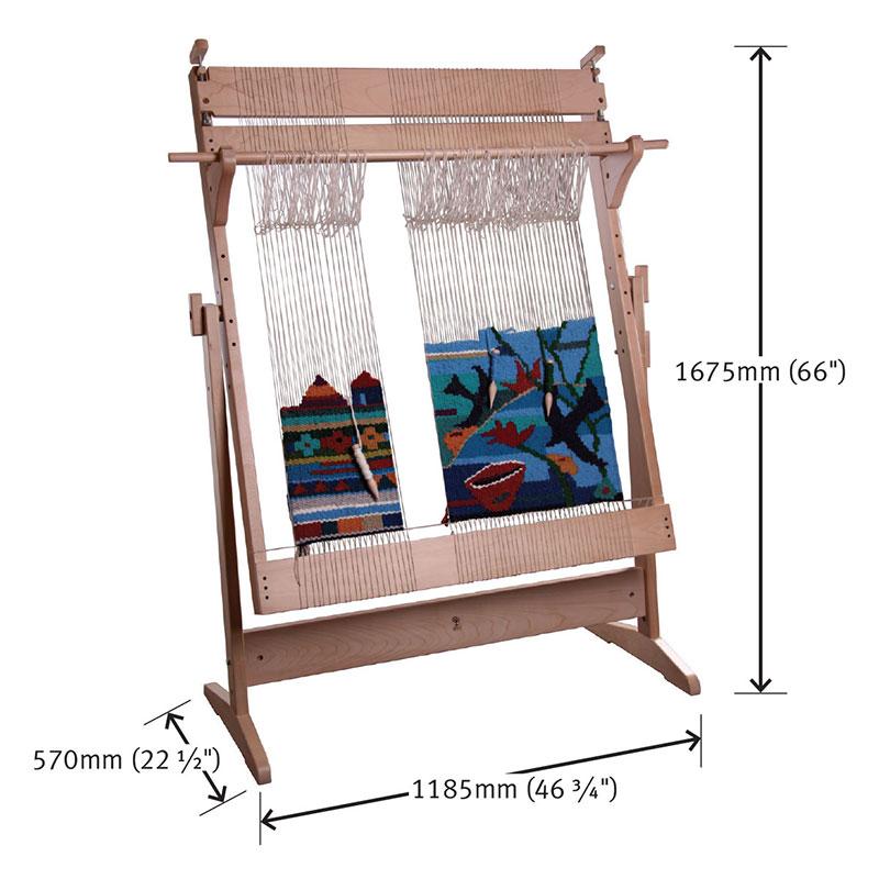 アシュフォード タペストリールーム 白木 <卓上 手織り機 ashford タペストリー 絵織り>  取り寄せ
