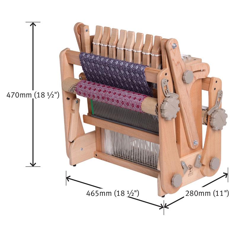 アシュフォード ケイティルーム30cm 8枚そうこう ラッカー塗装 組立済み完成品 <卓上 手織り機 ashford>