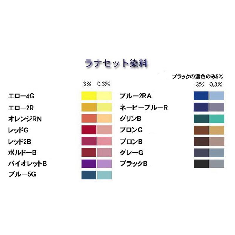 ラナセット染料 100g <染め 染色>