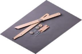 アシュフォード リジッドヘドル用テーブルスタンド 白木 <卓上 手織り機 ashford>