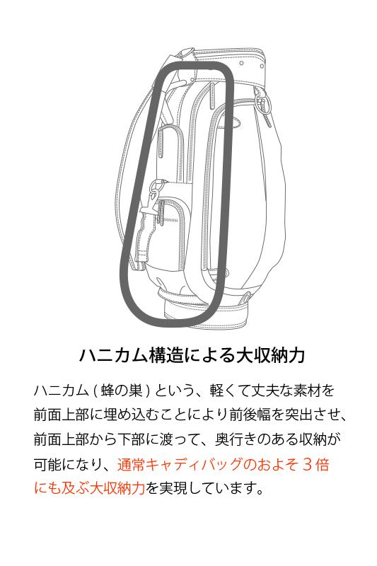 【新作】440243U キャディーバッグ