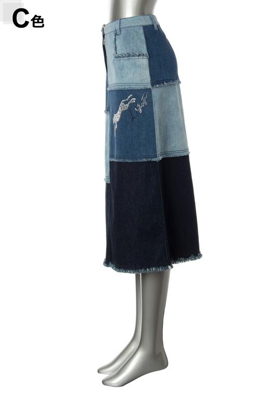 【アウトレット商品】677161 スカート