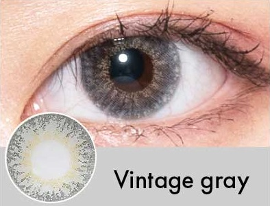 【度あり・度なし】Vintageグレー(1年)